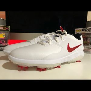 Nike Vapor Pro Golf Shoes White Sz 8.5W